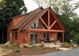 Maison bois massif empilé