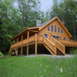 Maison en bois en kit 70m²