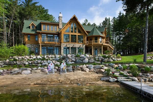 maison bois luxe