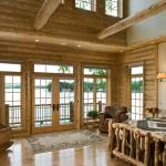 Chambre maison en bois de luxe