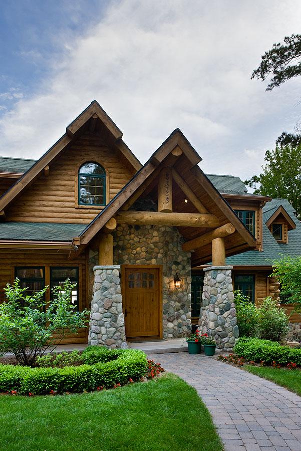 Maison bois luxe for Maison en bois de luxe