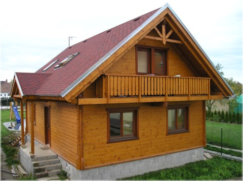 Maison en bois en kit 2