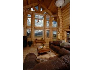 maison en bois de luxe salon 2