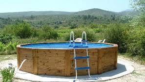 piscine bois maison