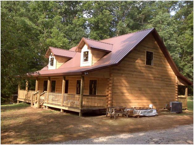 maison en bois pr fabriqu e