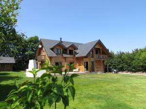 Exterieur maison en bois