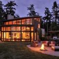 maison en bois desing