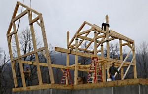 auto-construction maison en bois