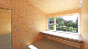 maison panneau bois massif