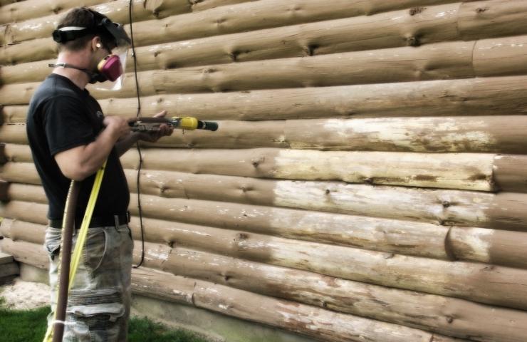 Restauration maison en bois