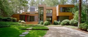 maison bois architecturale