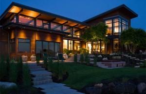 maison bois desing